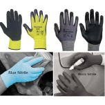 Blue Nitrile Hand Protection