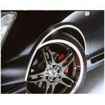 E-Tech Chrome Wheel Arch Guard 5M X 16mm AG001C