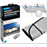 Reflective Heat & Sun Screen Silver 61cm X 147cm Foldable