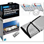 Reflective Heat & Sun Screen Silver 68cm X 170cm Foldable