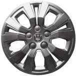 "Andretti 15"" Wheel Trims Set Metallic Grey"