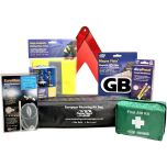 European Travel Kit includes Breathalhalyzer & Foil Blanket