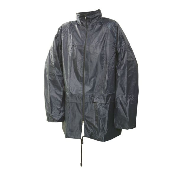 "Lightweight PVC Jacket Medium Size 50""/ 128cm Water resistant"