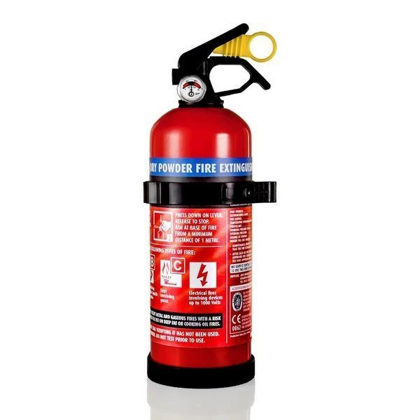 1 Kg Dry Power Fire Extinguisher with Gauge
