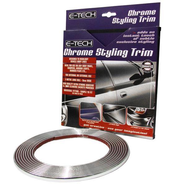 E-Tech 5M Chrome Styling & Detailing Trim CDT-01