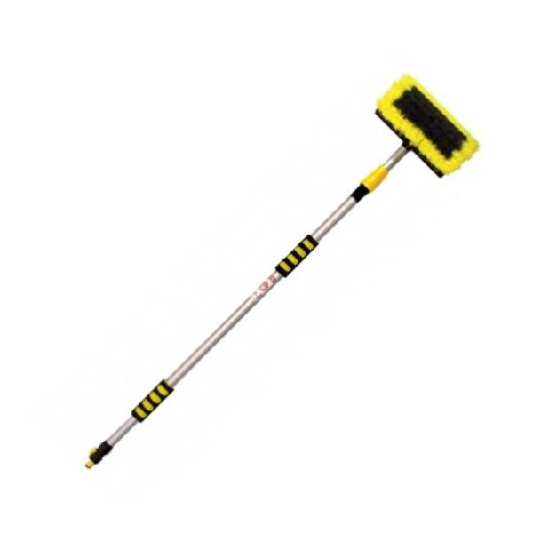 2-Stage 2M Long Wash Brush H.D. Water Fed Telescopic