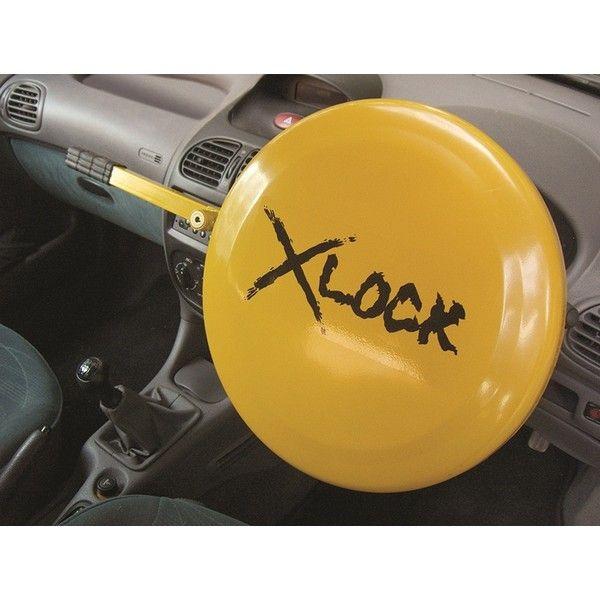Full Cover Steering Wheel  Anti-Theft Security Lock Urban-X  Yellow