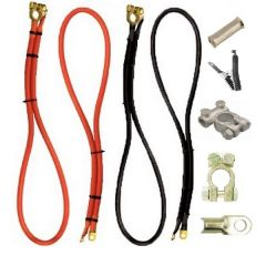 Autocraze Replacement Battery Starter and Earth Cables  Connectors Terminals Range