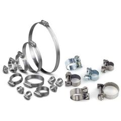 Hose Clips Band & Worm Screw Type/ Clamp & Bolt Type