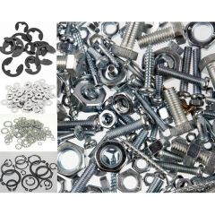 Nuts Bolts Washers Circlips Eclips Locking clips Coach Bolts Etc