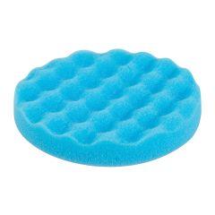 """6""""/ 15cm Waffle Foam Hoop & Loop Polishing Pad (Blue) for Paint Detailing"""