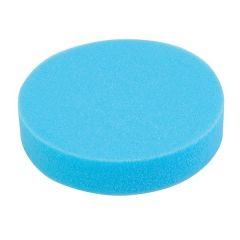 """7""""/ 18cm Flat Foam Hoop & Loop Polishing Pad (Blue) for Paint Detailing"""