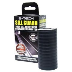 E-Tech Black Door Sill Guard & Bodywork Protector 2.36M X 90mm 607630