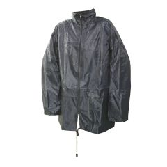 "Lightweight PVC Jacket Medium Size 50""/ 128cm Water resistant"