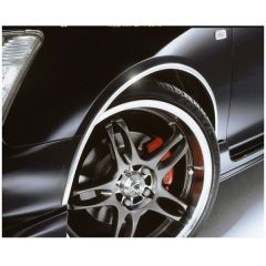 E-Tech Chrome Wheel Arch Guard 5M X 16mm AG001C