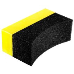 Tyre Dressing Applicator Pad  Curved Double Density Foam