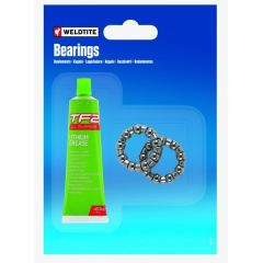 3/16-in Front Hub Caged Bearings (7per cage) & Grease Kit