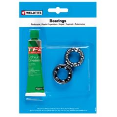 1/4in Rear Hub Caged Bearings (7per cage) & Grease Kit