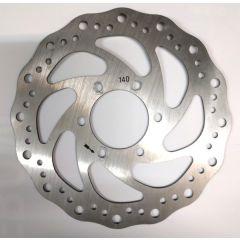 Wavy pattern brake rotor 140mm