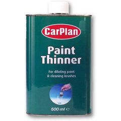 Carplan Paint Thinner 500ml For Diluting Paint & Cleaning Brushes @ Autocraze