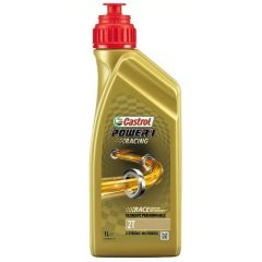 Castrol Power-1 Racing 2T Fully Synthetic 2-Stroke Engine Oil 1-Litre