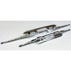 Chrome Wiper Blade Double Spoiler 15in SSW0738