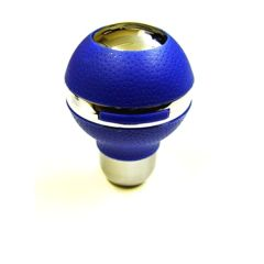 Ball GearKnob Blue & Chrome G3