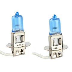 Super White Xenon Twin Pack H3 55W 12V