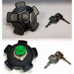 Locking Fuel Cap  VW Golf Mk-1, Jetta, Scirocco