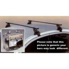 Driver Complete Roof Bars  Kit for Peugeot 405, Hyundai Various