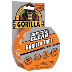 Gorilla Crystal Clear Waterproof Repair Tape 8.2M long