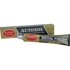 Autosol POLISH Chrome Alluminium & Metal PASTE TUBE 75g