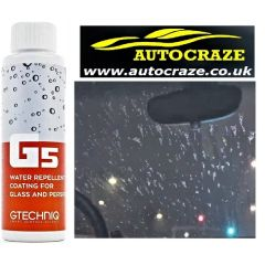 Gtechniq G5 Water Repellent Coating for Glass and Perspex @ Autocraze