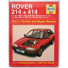 Haynes Workshop Manual Rover 214, 414 Petrol