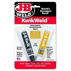 JB-Kwik-Weld Quick-Setting Steel Reinforced Epoxy