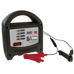 Automatic Battery Charger 12-Vol 6-Amp for Lead Acid & AGM Types
