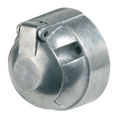 7-Pin 12N Normal Towing Socket Aluminium