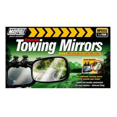 Towing Extension Mirror Convex Glass Pair 2pcs MP8323