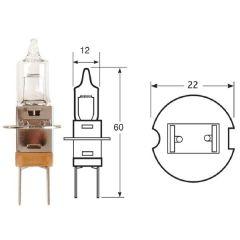 12V 55W P22S H3SR (0453) Special Japanese Halogen Headlamp Bulb