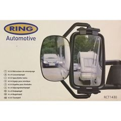 Towing Mirror Large & Tall Suitable for Vans 4x4 & Motor-Homes