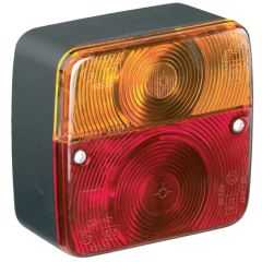 Trailer Lamp Square 4 Rear Illumination Functions