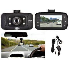 "HD 2.7"" Dash Camera With  G-Sensor Accident Recording & 1080HD resolution"