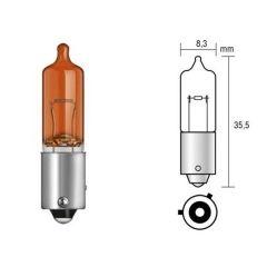 12V 21W Amber HY21W Halogen Bulb 9mm RU927