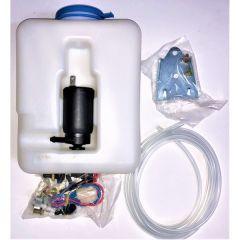 Universal Screen Washer Bottle & Pump Kit 1.3-Litre 12-Volt