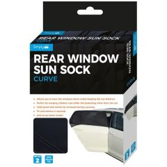 Sun-Socks For Curved Rear Windows Set of 2-Pieces