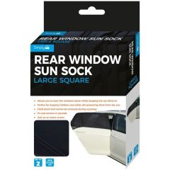 Sun-Socks For Large Square Rear Windows Set of 2-Pieces