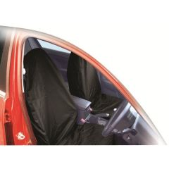 Hi-Back Front Seat Protectors Pair Air Bag Friendly Water Resistant