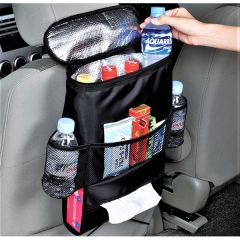 Car Seat Organiser Multi Pockets with Main Insulated Pocket