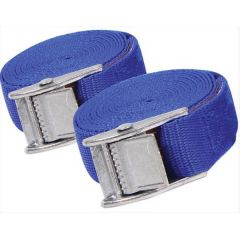 Tie Down Straps Cam Buckled Twin Pack 2.5M X 25mm