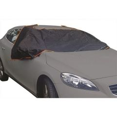 Deluxe Magnetic Windscreen & Side Window Frost Cover Size-1 (Small & Medium Cars)